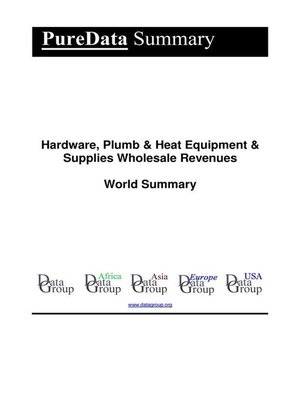 cover image of Hardware, Plumb & Heat Equipment & Supplies Wholesale Revenues World Summary