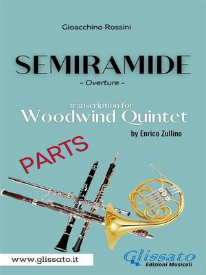 cover image of Semiramide--Woodwind Quintet (parts)