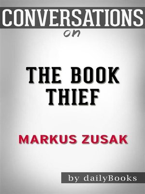 cover image of The Book Thief--by Markus Zusak | Conversation Starters