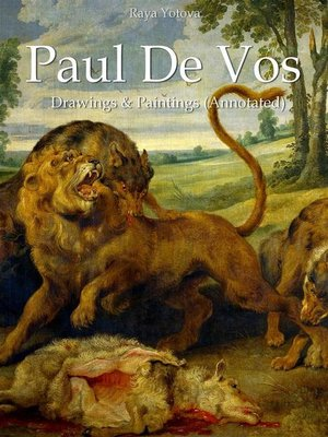 cover image of Paul De Vos--Drawings & Paintings (Annotated)