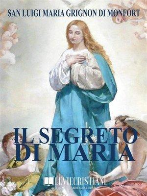 cover image of Il Segreto di Maria