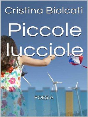 cover image of Piccole lucciole