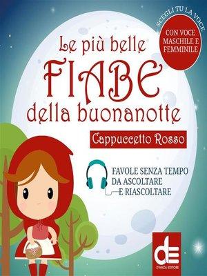 cover image of Cappuccetto Rosso
