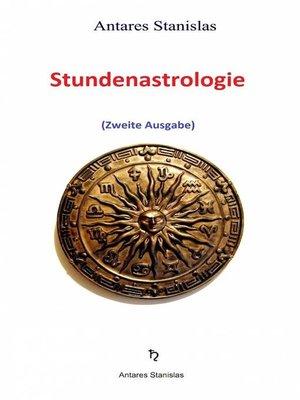 cover image of Stundenastrologie
