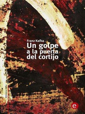 cover image of Un golpe a la puerta del cortijo