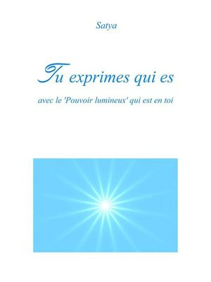 cover image of Tu exprimes qui es