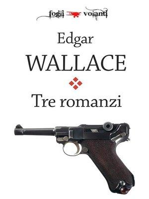 cover image of Tre romanzi