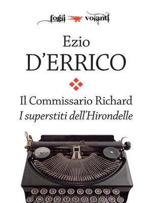 cover image of Il commissario Richard. I superstiti dell'Hirondelle