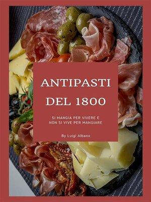 cover image of Antipasti del 1800
