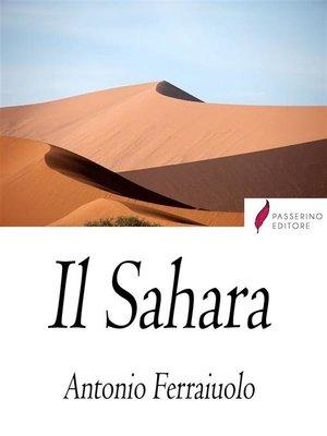 cover image of Il Sahara