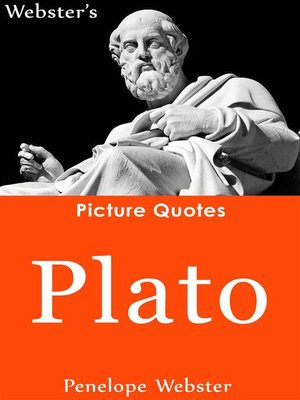 cover image of Webster's Plato Picture Quotes