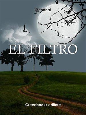 cover image of El filtro
