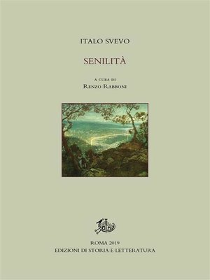 cover image of Senilità
