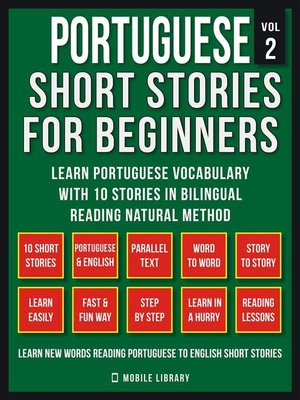 cover image of Portuguese Short Stories For Beginners (Vol 2)