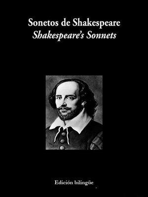 cover image of Sonetos de Shakespeare--Espanhol