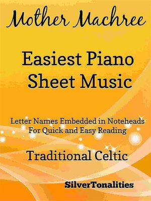 cover image of Mother Machree Easiest Piano Sheet Music