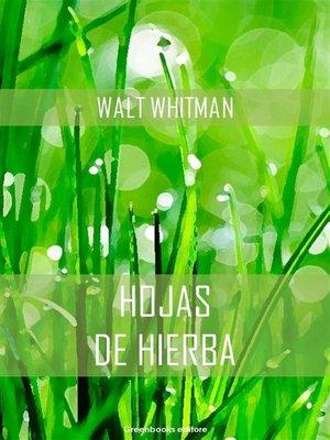 cover image of Hojas de hierba