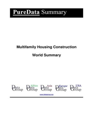 cover image of Multifamily Housing Construction World Summary
