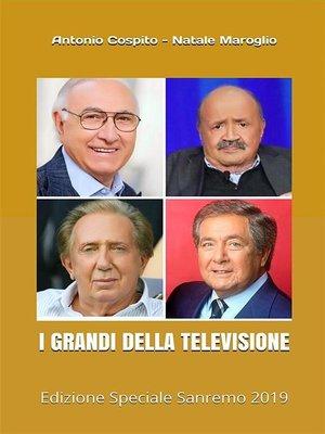 cover image of I Grandi della Televisione
