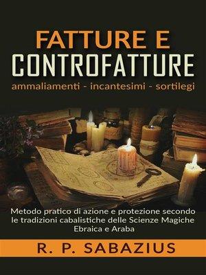 cover image of Fatture e controfatture