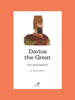 cover image of Darius the Great--The Biography