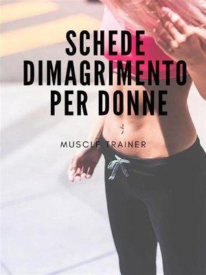cover image of Schede Dimagrimento per Donne