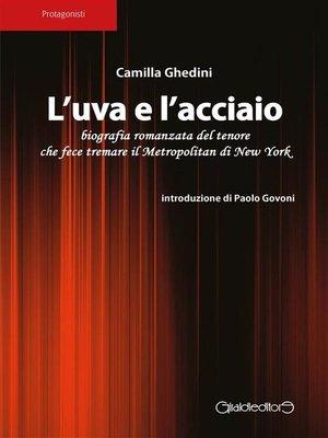 cover image of L'uva e l'acciaio