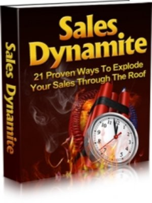 cover image of Sales Dynamite