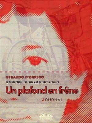 cover image of Un Plafond En Frêne