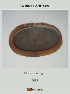 cover image of In difesa dell'arte