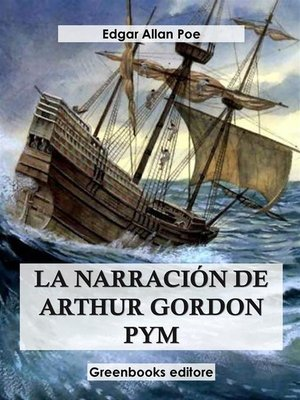 cover image of La narración de Arthur Gordon Pym