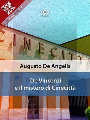 cover image of De Vincenzi e il mistero di Cinecittà