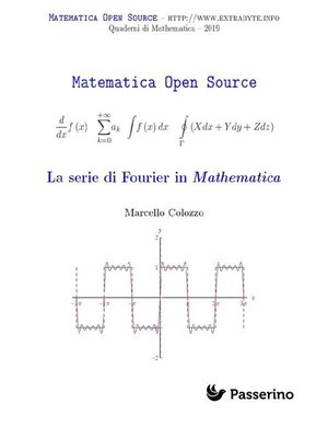cover image of La serie di Fourier in Mathematica