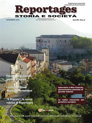 cover image of Reportages Storia e Società numero 22