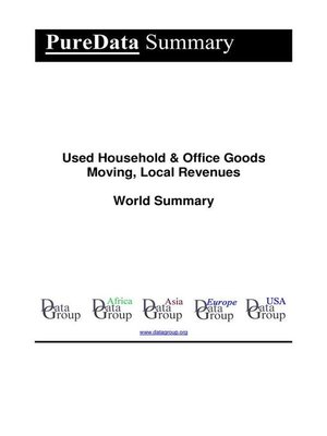 cover image of Used Household & Office Goods Moving, Local Revenues World Summary