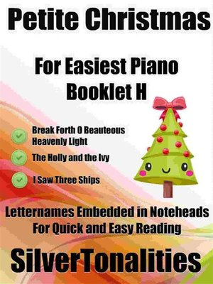 cover image of Petite Christmas for Easiest Piano Booklet H