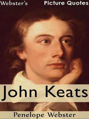 cover image of Webster's John Keats Picture Quotes