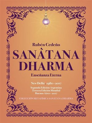 cover image of Sanâtana Dharma
