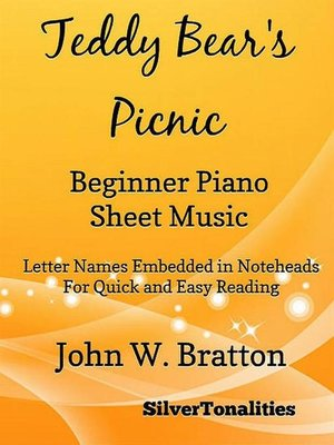 cover image of Teddy Bear's Picnic Beginner Piano Sheet Music