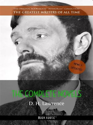 cover image of D. H. Lawrence--The Complete Novels