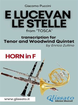 cover image of E lucevan le stelle--Tenor & Woodwind Quintet (Horn in F part)