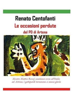 cover image of Le occasioni perdute del PD di Artena