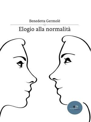 cover image of Elogio alla normalità