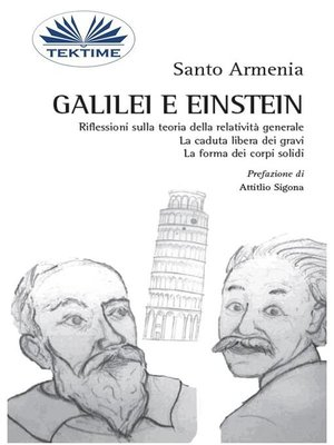 cover image of Galilei e Einstein