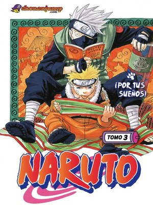 cover image of Naruto 3
