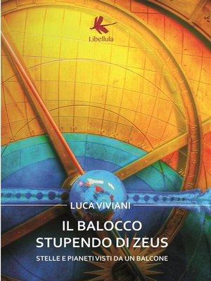 cover image of Il Balocco stupendo di Zeus