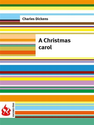 cover image of A Christmas carol (low cost). Limited edition