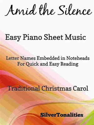 cover image of Amid the Silence Easy Piano Sheet Music