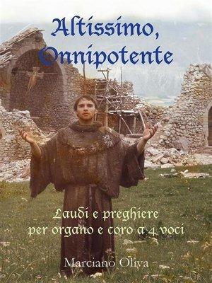 cover image of Altissimo Onnipotente