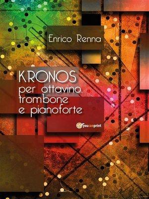 cover image of KRONOS per ottavino, trombone e pianoforte